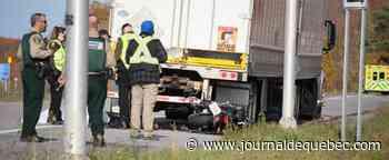 Un motocycliste décède à Saint-Michel-de-Bellechasse