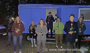 Wahlparty am neuen Bauwagen - Grenzach-Wyhlen - Badische Zeitung