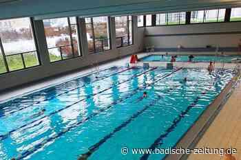 30 Gäste dürfen zeitgleich im Hallenbad Grenzach-Wyhlen schwimmen - Grenzach-Wyhlen - Badische Zeitung