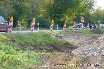 Römische Mauerreste an B 34-Baustelle in Grenzach-Wyhlen entdeckt - Grenzach-Wyhlen - Badische Zeitung