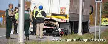 Un motocycliste meurt à Saint-Michel-de-Bellechasse