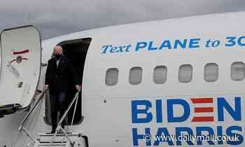 Crew member on Joe Biden's campaign plane tests positive for COVID