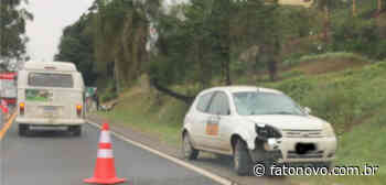 Atropelamento com morte na BR 470 no Faxinal - Fato Novo