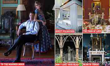 How YOU can spend a night in Dominic West's bed (for £6,000 a time!)