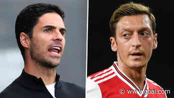 Arsenal must keep Ozil motivated despite squad axe - Arteta