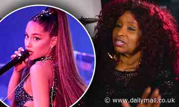 Chaka Khan REFUSES to collaborate with Ariana Grande again following their 2019 track Nobody