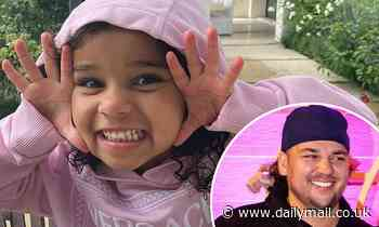 Rob Kardashian shares trio of sweet snaps of daughter Dream, three, to Instagram