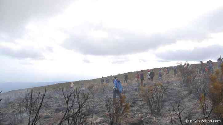 Tanzania deploys helicopter to boost fight to douse Kilimanjaro fires