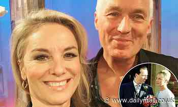 Tamzin Outhwaite reunites with on-screen husband Martin Kemp