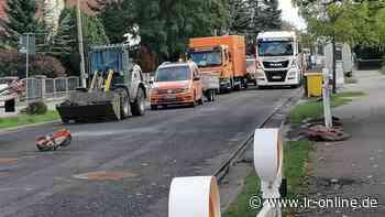 Verkehrsfreigabe: Freie Fahrt auf der B 101 in Elsterwerda – aber nur kurz - Lausitzer Rundschau