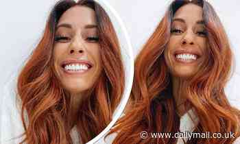 Stacey Solomon embraces autumnal hues with a stunning hair transformation