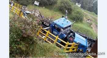 Terrible accidente en el Sisga, Vía Bogotá – Chocontá, Cundinamarca - Noticias Día a Día