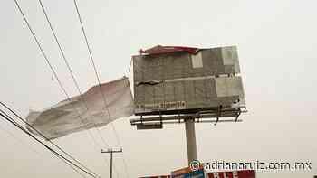 #Juarez   Alertan autoridades por presencia de fuertes vientos en la ciudad - Adriana Ruiz