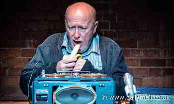 It's playback time for one old codger: PATRICK MARMION reviews Krapp's Last Tape