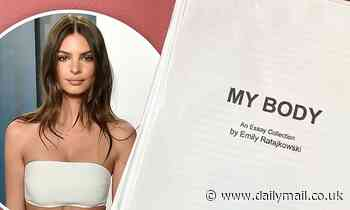 Emily Ratajkowski takes to social media to announce upcoming new book of essays titled My Body