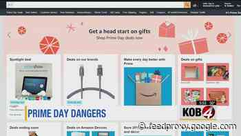 Scammers target Amazon Prime Day shoppers