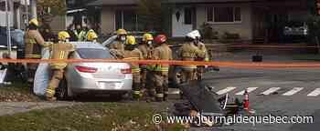 Une femme meurt dans un accident impliquant trois véhicules