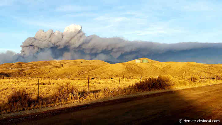 East Troublesome Fire Continues To Burn Unchecked At 4800+ Acres