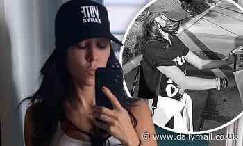 Kourtney Kardashian supports Kanye West with a 'Vote Kanye' hat