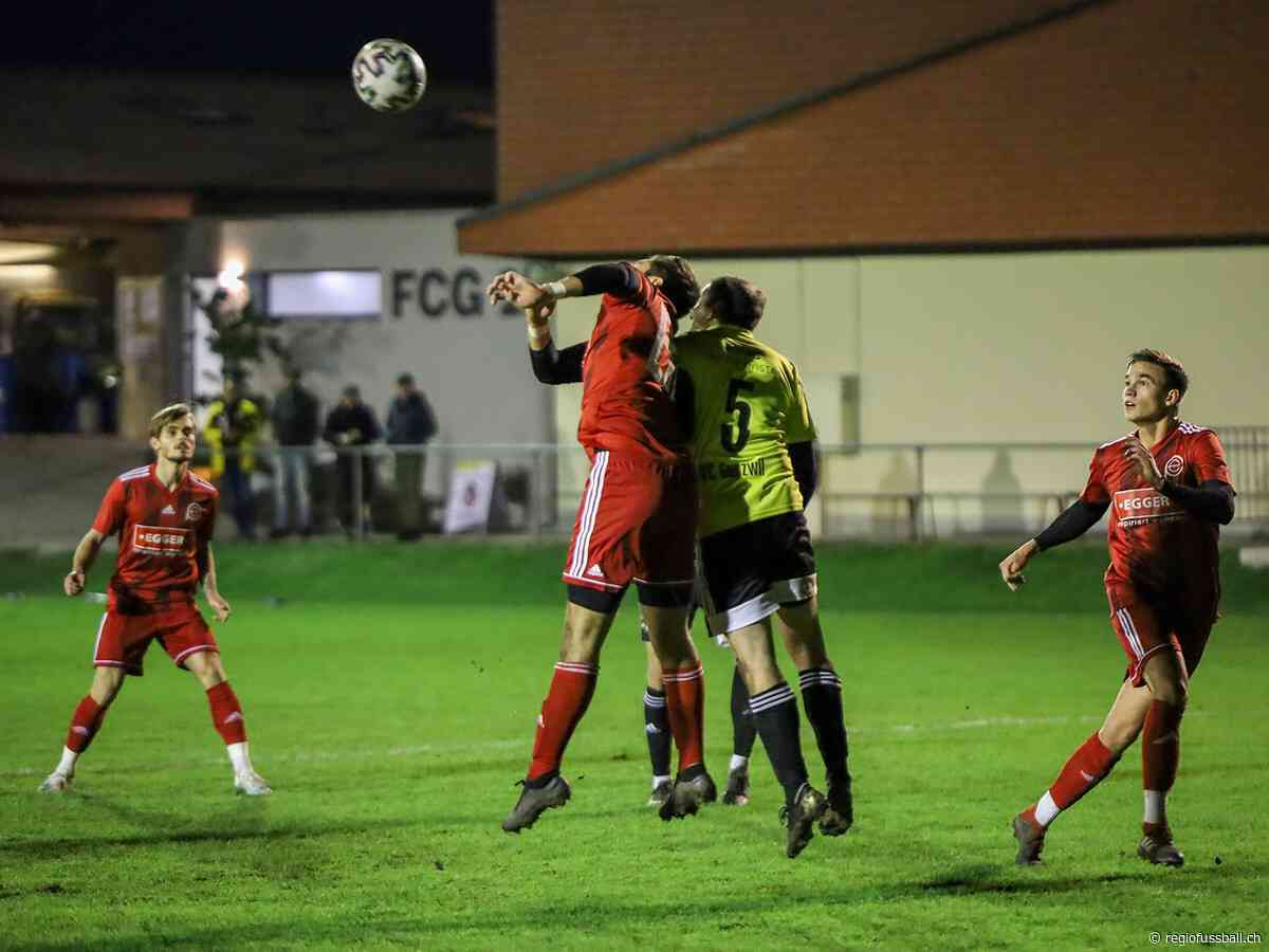 Gunzwil mit unglücklicher Niederlage gegen Eschenbach - REGIOfussball.ch