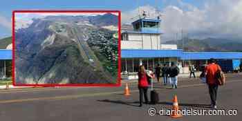 Seis años después, entregarán obras de remodelación del aeropuerto de Chachagüí en Nariño - Diario del Sur