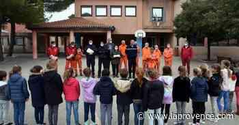 Ventabren : une vingtaine d'enfants diplômés par les pompiers - La Provence