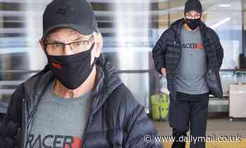Britney Spears' dad Jamie arrives at LAX as they inch toward solution in battle over conservatorship
