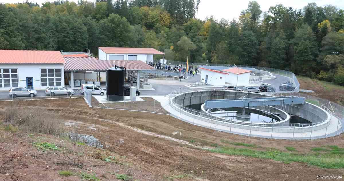 Millionen-Projekt: Kläranlage Leineck in Alfdorf eingeweiht - Zeitungsverlag Waiblingen