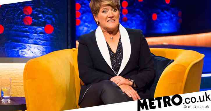 Clare Balding scolded by football player after hurling abuse: 'That was rubbish'