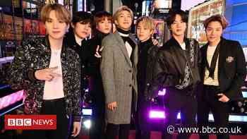 A hit share market debut for BTS's music label