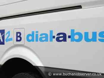 Controlled and phased return of Aberdeenshire's A2B dial-a-bus service begins this month - Buchan Observer