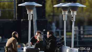 How to keep warm on a patio without heating the planet