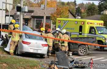 Four people injured in a serious accident in Sainte-Marie-de-Beauce - AlKhaleej Today
