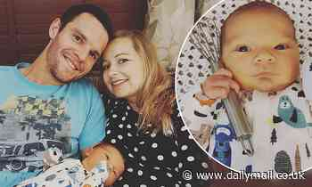 Great British Bake Off star Dave Friday becomes a father for the first time