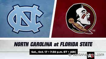 North Carolina vs. Florida State Football Prediction and Preview - Athlon Sports