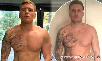 TOWIE's Tommy Mallet details his weight loss journey in comparison snaps