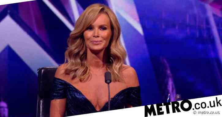 Amanda Holden films herself getting 'quick and painless' mammogram to promote breast cancer awareness