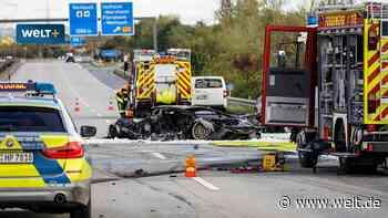 Raser auf A66 bei Hofheim: Der Tod kam im Lamborghini - WELT