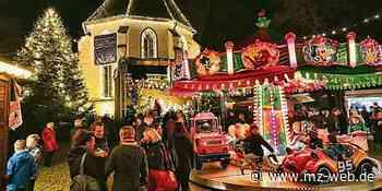Sangerhausen: Weihnachtsmarkt findet sich auf dem Marktplatz statt - Mitteldeutsche Zeitung