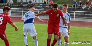 Fußball: VfB Sangerhausen spielt gegen Dessau 05 - Mitteldeutsche Zeitung
