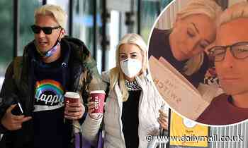 Dancing On Ice's Denise Van Outen and Matt Evers move in together