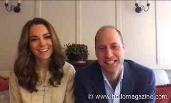 Kate Middleton and Prince William play virtual Pictionary as they're reunited with old friends - best photos