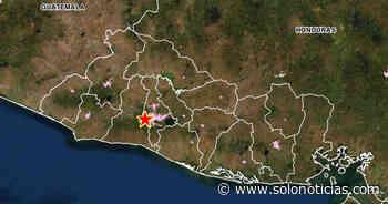 Sismo de 2.2 sacudió esta mañana a Antiguo Cuscatlán - Solo Noticias