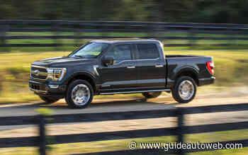 Moins de 10 L/100 km pour le Ford F-150 hybride