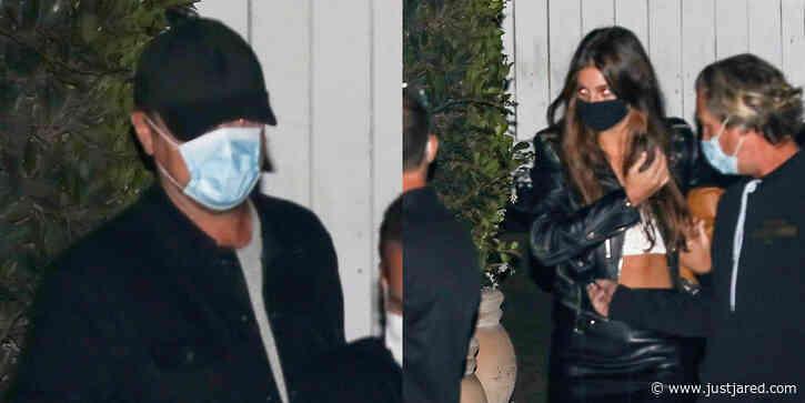 Leonardo DiCaprio & Girlfriend Camila Morrone Enjoy a Dinner Date With Friends
