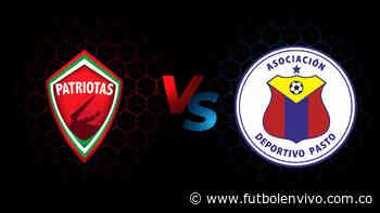 Patriotas vs Deportivo Pasto en vivo online: Liga BetPlay, en directo - Fútbol en vivo