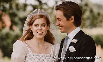 Princess Beatrice thanks fans three months after secret wedding to Edoardo Mapelli Mozzi