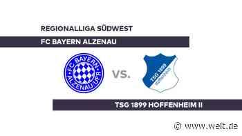 FC Bayern Alzenau - TSG 1899 Hoffenheim II: Ist die Schlappe verdaut? - Regionalliga Südwest - DIE WELT