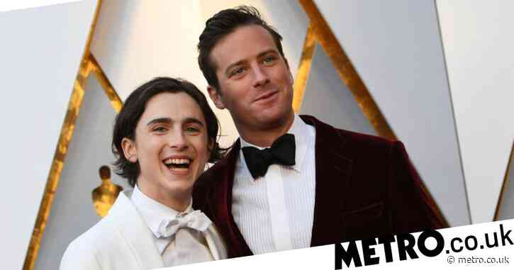 Armie Hammer explains the aubergine emoji on Call Me By Your Name co-star Timothee Chalamet's selfie