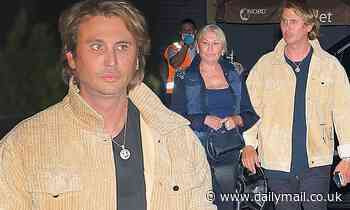 Jonathan Cheban takes his mom to Nobu in Malibu before Kim Kardashian's 40th birthday bash